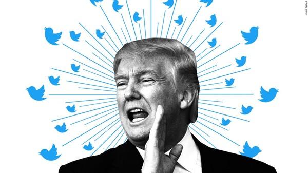 据说特朗普是Twitter的死忠粉