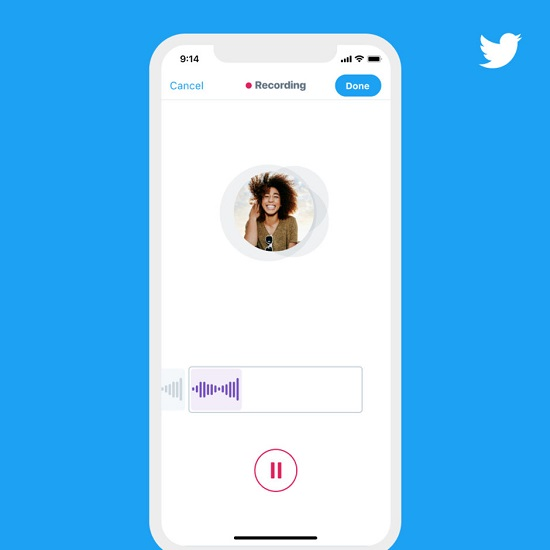 Twitter允许用户发140秒的语音推文